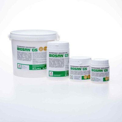 BIOSAN GS - Hlboká podstielka - užitočné baktérie