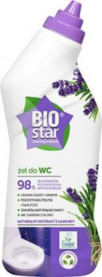 BIOstar Toaletný gél do WC 750 ml