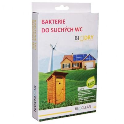 BIODRY - Baktérie do suchých WC 100g, 1kg