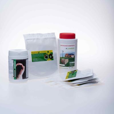 Set pre starostlivosť o kompost - Biokompost, Sanidenn kompost, Nowesan